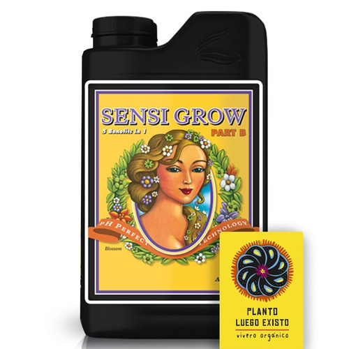 sensi grow  part a + part b advanced nutrients 500 ml
