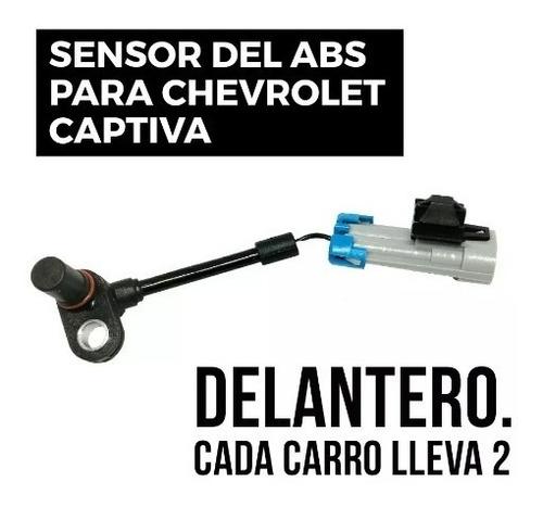 sensor abs captiva delantero (del bocín)