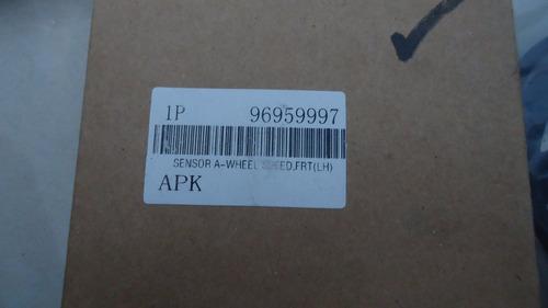 sensor abs delantero izquierdo aveo 96959997 rt