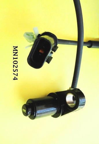 sensor abs dianteiro direito l200 triton mn102574 até 2011