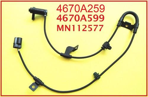sensor abs traseiro esquerdo l200 triton até 2012 mn102577