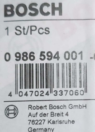 sensor abs vw bora 2.0 new beetle 2.0 diant. esquerdo bosch