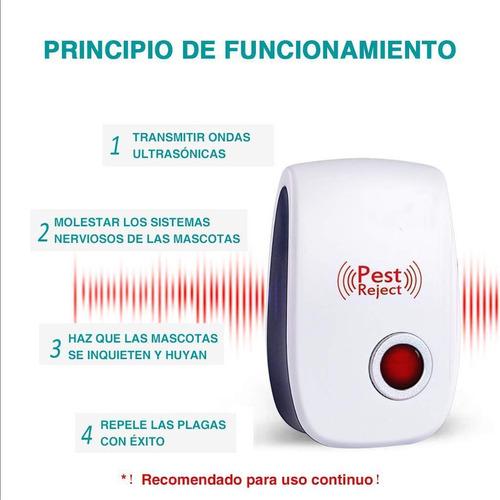 sensor ahuyentador repelente de plagas ultrasonico