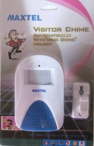 sensor anunciador de presença maxtel 16 melodias ate 5metros