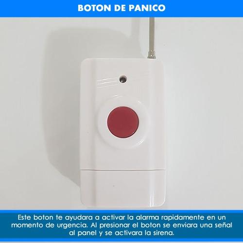 sensor boton de panico emergencia alarma casa sos sms adulto