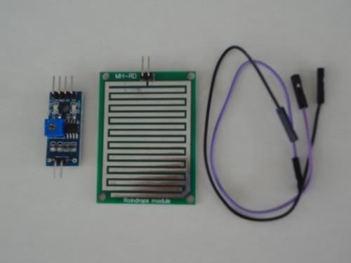 sensor chuva pingos arduino e raspberry pi - pronta entrega