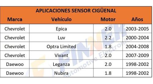 sensor cigüeñal epica luv optra limited vivant leganza nubir