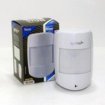 sensor com fio blue infra vermelho ivp ib500 genno digital