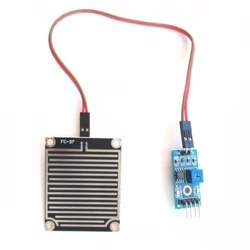 sensor de água e chuva para arduíno