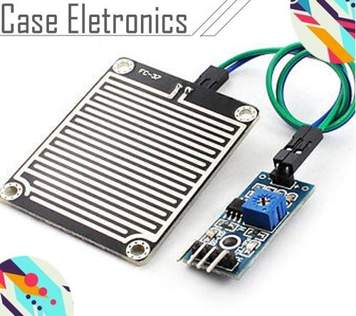 sensor de chuva arduino
