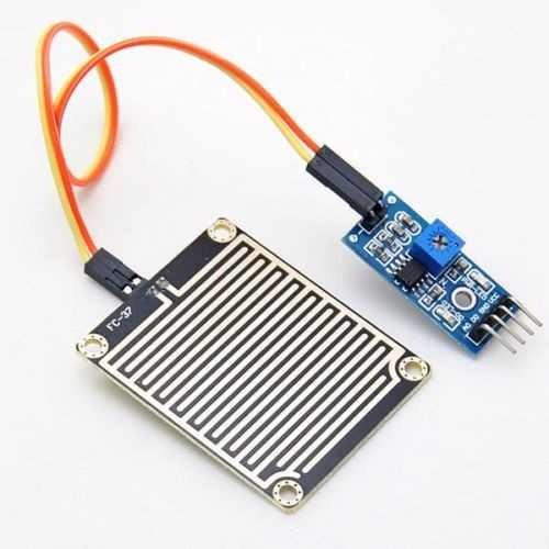 sensor de chuva módulo arduino pic lm393