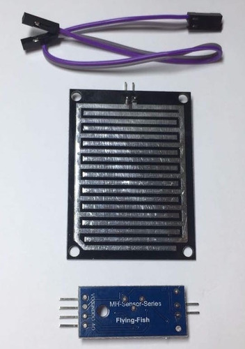 sensor de chuva + módulo + cabo - arduino água umidade
