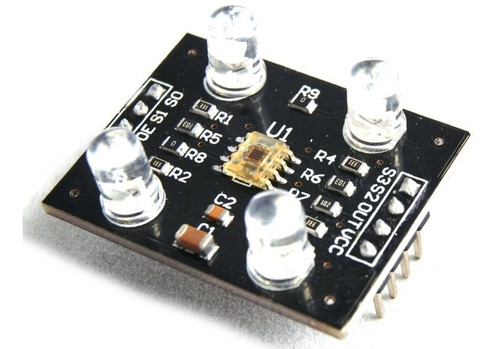sensor de color rgb tcs3200 lc tech (arduino, avr, pic)