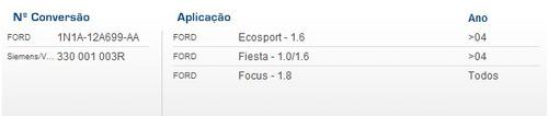 sensor de detonação  ecosport 1.6  fiesta 1.0 1.6  focus 1.8