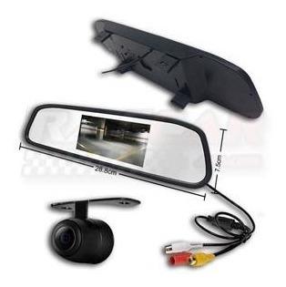 sensor de estacionamento c/ retrovisor e câmera