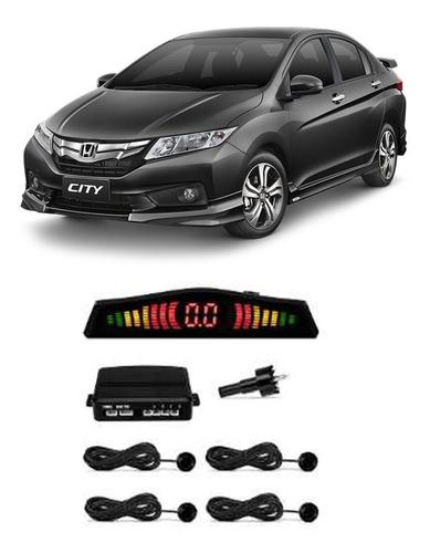 sensor de estacionamento ré cinza iridium civic city new fit