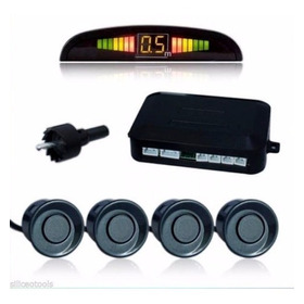Sensor De Estacionamiento Cromado O Negro Instalado Universa