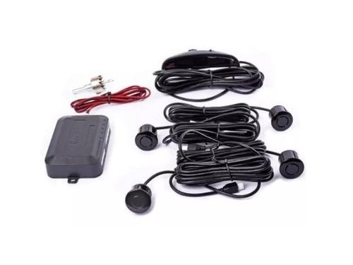 sensor de estacionamiento display y sonido negro universal