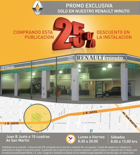 sensor de estacionamiento renault - original