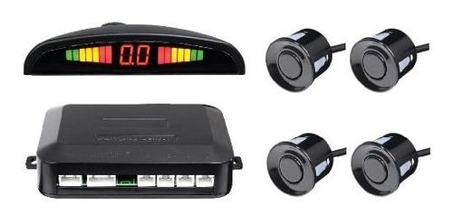 sensor de estacionamiento x-28 display negro