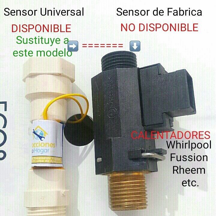Sensor De Flujo De Agua Para Calentadores Whirpool