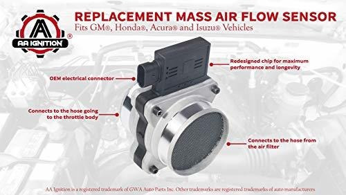 sensor de flujo de aire masivo  compatible con chevy, cadil
