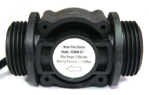 sensor de flujo por efecto hall fs400a g1