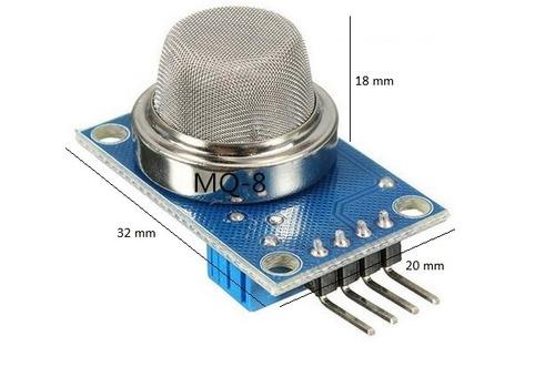 sensor de hidrogeno mq8 sensor de gas para arduino