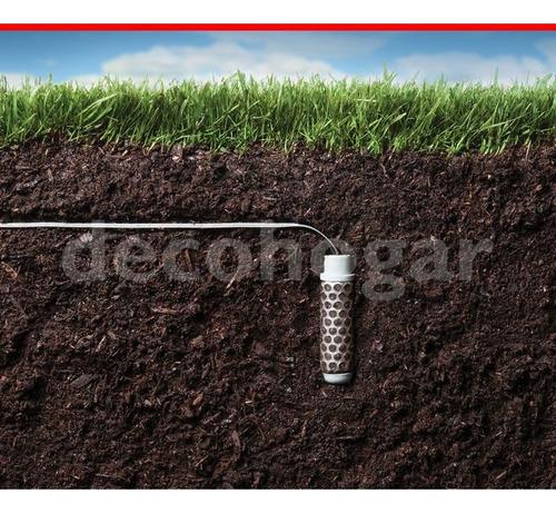 sensor de humedad automático hunter riego soil clik 300 mts