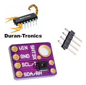 Sensor De Humedad Y Temperatura Sht31 Sht21 + Envío Gratis