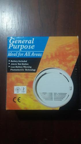 sensor de humo encendió alarma inalambrica 315mhz