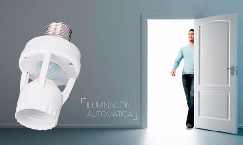 sensor de iluminación por presencia hagroy