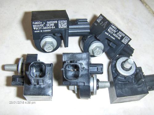 sensor de impacto airbag. original ford. bc3t-14b345-ba.