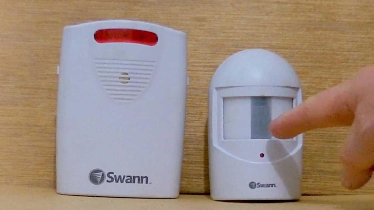 Sensor de movimiento alarma con sirena inalambrica - Sensores de movimiento con alarma ...