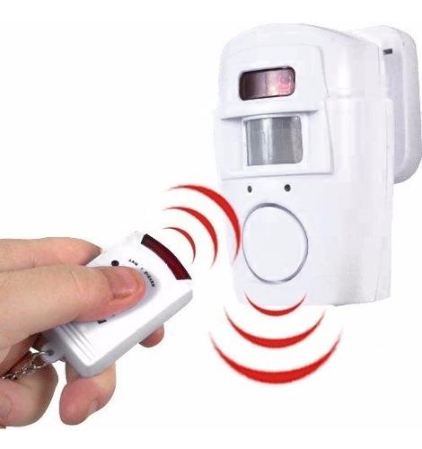 sensor de movimiento con alarma de bocina 105db