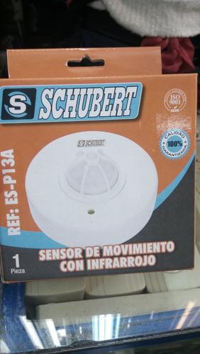 sensor de movimiento de iluminacion schubert