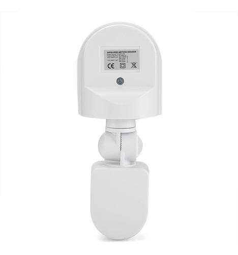 sensor de movimiento exterior intemperie  - electroimporta -