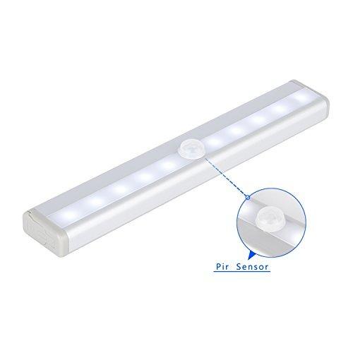 Sensor de movimiento icoco luz del gabinete 10 led con - Sensor de movimiento para luz precio ...