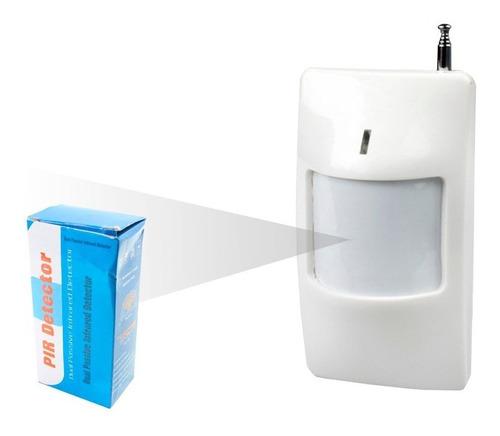 sensor de movimiento inalambrico infrarojo 433mhz alarma