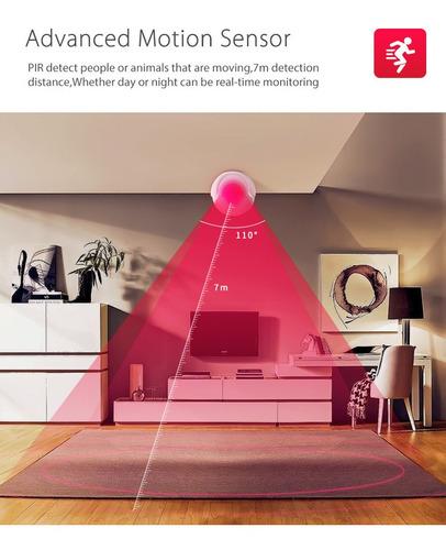 sensor de movimiento inteligente wifi smartlife tuya app