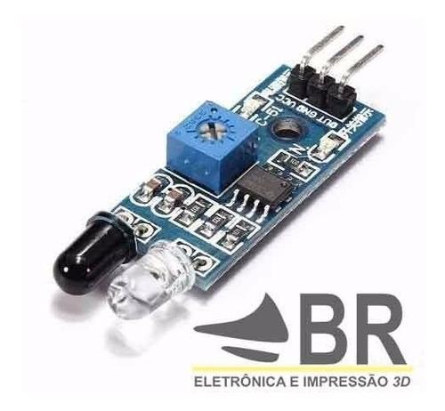 sensor de obstáculo infravermelho seguidor de linha