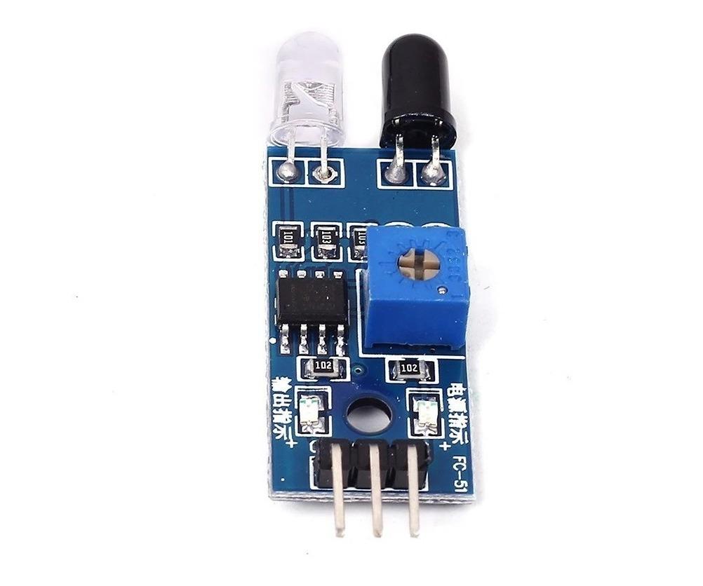 Sensor De Obstaculo Ir Infravermelho Proximidade Arduino