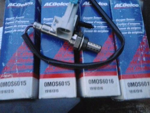 sensor de oxigeno acdelco 0mos6015 / 0mos6016