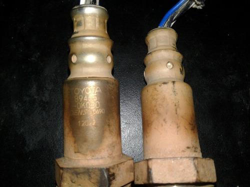 sensor de oxígeno original toyota fortuner (precio por par)
