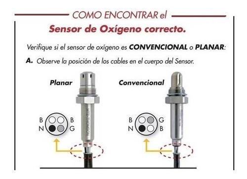 sensor de oxígeno universal 4 cables convencional