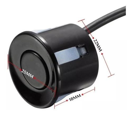 sensor de parqueo tipo media luna, 4 sensores