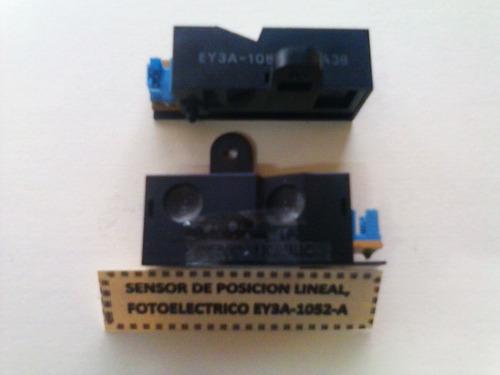 sensor de posición lineal fotoelectrico