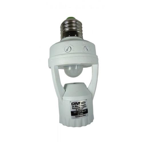 sensor de presenca e iluminacao fotocelula para lampada soqu