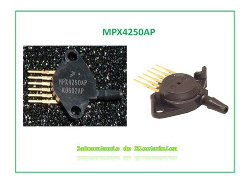 sensor de presión absoluta freescale semiconductor mpx4250ap