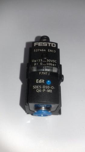 sensor de pressão/pressostato eletrônico festo sde5 (novo)